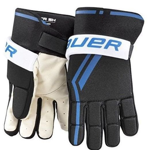 bauer guantes hockey rec junior